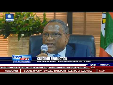Crude Oil Production: NNPC Applauds FG's Peace Initiative In Niger Delta