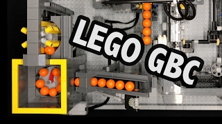 Awesome LEGO Great Ball Contraption Pneumatic Ball Factory