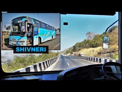 Beautiful Khandala Ghat Coverage On Board MSRTC Shivneri Scania Bus!!!