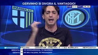 Parma Inter 1-2  Con Filippo Tramontana