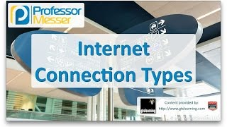 Internet Connection Types - CompTIA A+ 220-901 - 2.7