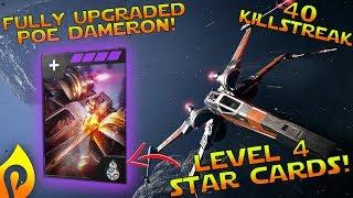 Star Wars Battlefront 2: Fully Upgraded Poe w/Cookie Commentary/Killstreak!