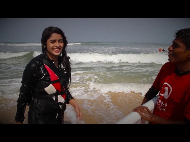 Surfer Girls Darshana Shetty & Riddhika Poddar Visit Mantra Surf Club