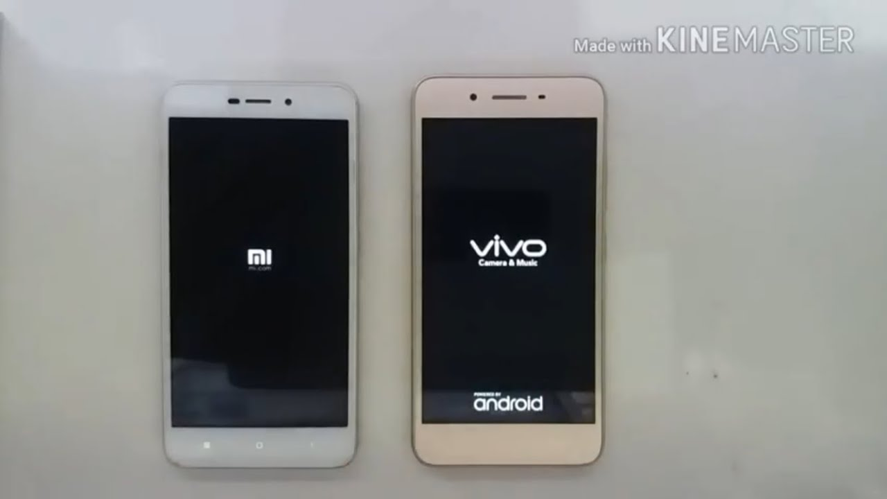 Xiaomi redmi 4a vs vivo y53 test speed. - YouTube