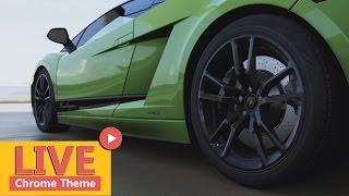 Lamborghini Live 3d Wallpaper Theme For Chrome
