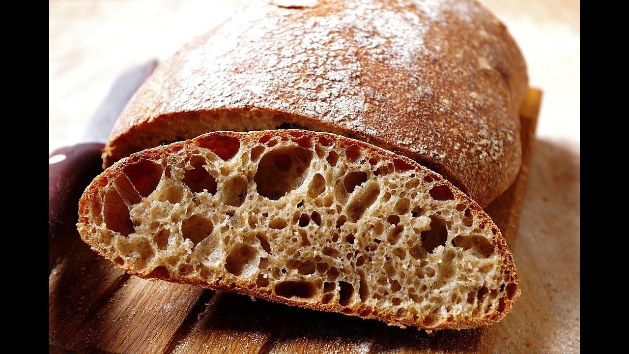 Хлеб на закваске с семечками. Бездрожжевой хлеб на хмелевой .