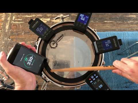 Drum Tuner EZ. Drum Tuning Made Easy! Detecting Lug Pitches & Fundamental Tone On A Tom With IPhone.
