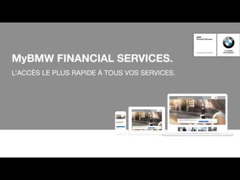 MyBMW Financial Services.