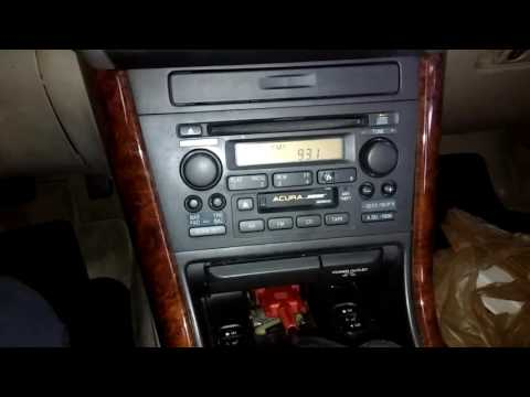 2000 Acura TL radio code /serial number