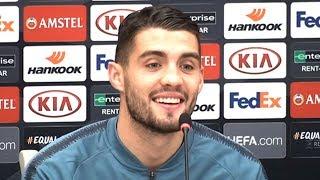 Mateo Kovacic Full Pre-Match Press Conference - BATE Borisov v Chelsea - Europa League