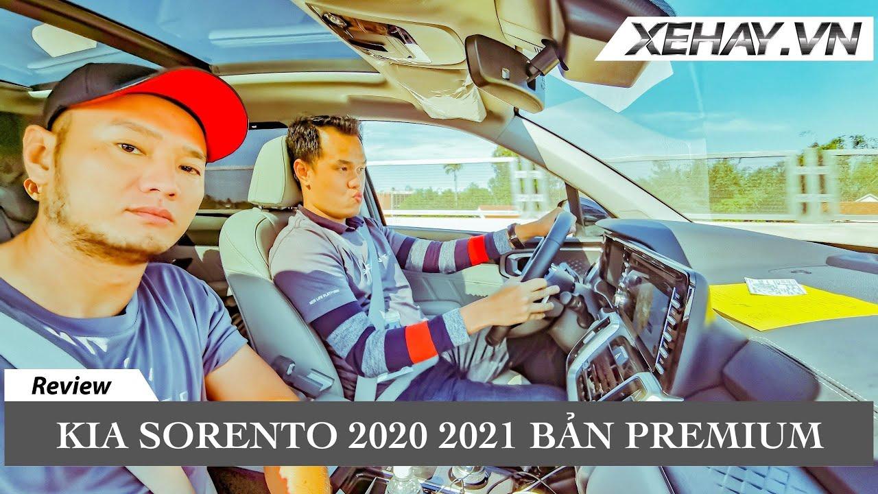 Lái thử Kia Sorento 2021 bản PREMIUM