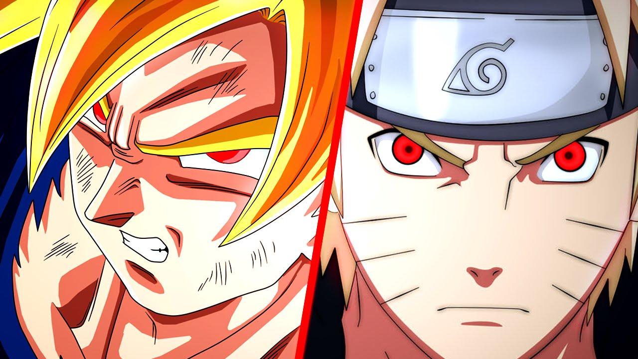 Sharingan Wallpaper Hd Goku Vs Naruto Duelo De Tit 227 S Youtube
