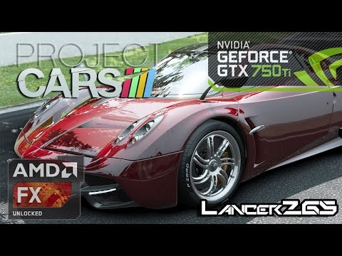Project CARS Gameplay GTX 750Ti High Settings 1080p FX 6300