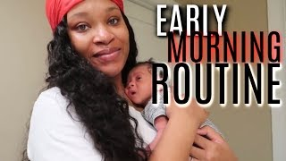 OUR REALISTIC EARLY MORNING ROUTINE!!!!