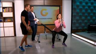 God Morgen Norge, Tv2 - Sirkeltrening Og Tanker Om Resultater