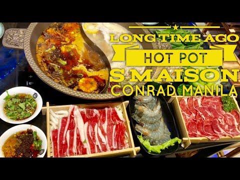 Serious Eats Manila: Long Time Ago Szechuan Hot Pot and BBQ Restaurant S Maison Conrad Manila