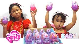 Jessica Jenica Buka SURPRISE EGG Baby MY LITTLE PONY Lucu dan Imut Banget 💖 Mainan Anak Let's PLay