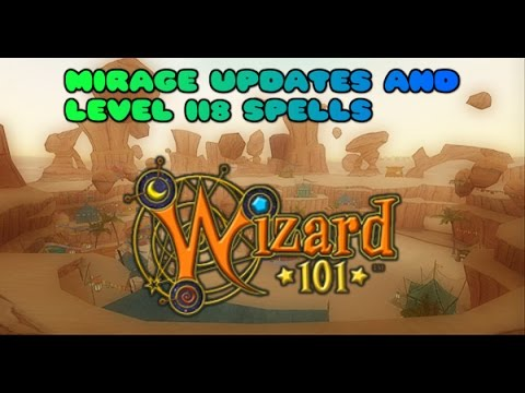 Wizard101 Livestream - Mirage Updates and Level 118 Spells [Test Realm]