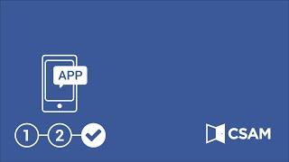 Activatie van een app voor toegang via beveiligingscode