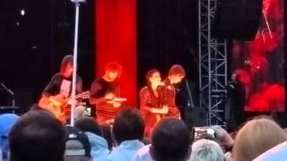 Weiße Fahnen - Silbermond - Live in Leipzig 19.06.2015