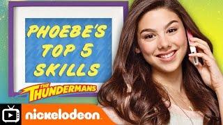 The Thundermans | Phoebe's Top 5 Skills | Nickelodeon UK