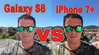 Cámara Samsung Galaxy S8 VS iPhone 7 plus