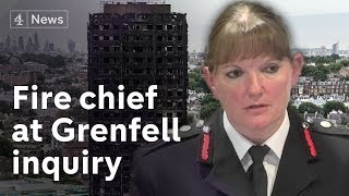 Fire chief tells Grenfell inquiry 'we would not change anything we did'