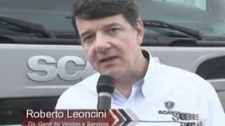 Scania na Fenatran 2011