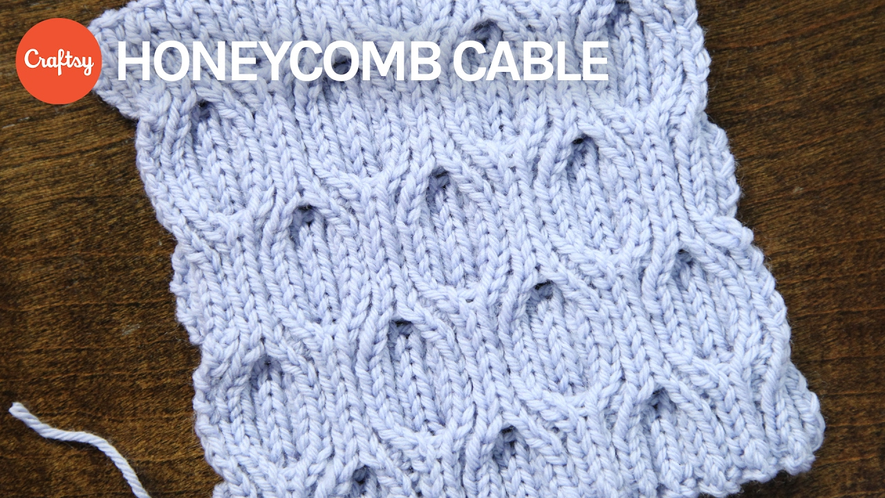 How to Knit Honeycomb Cables (they\'re reversible!) | Knitting ...