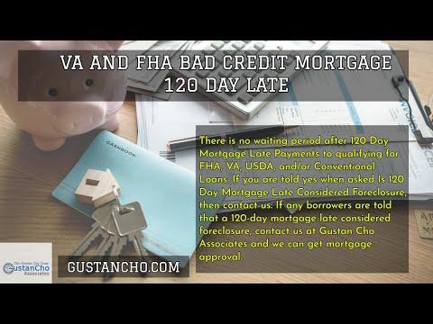 va-and-fha-bad-credit-mortgage-120-day-late