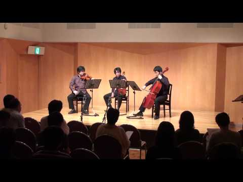 "Andy Vores ""Fabrication 8"" for string trio"