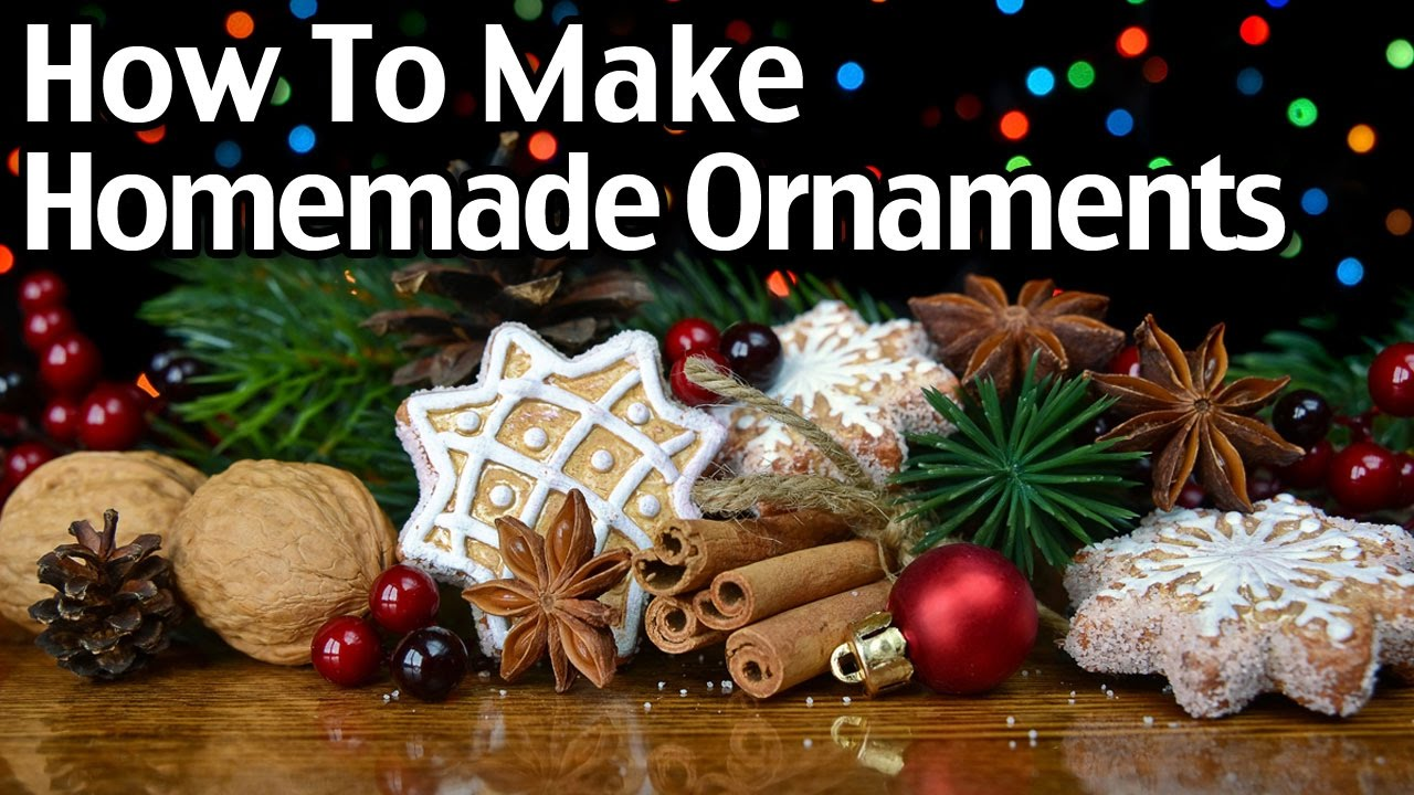 How To Make Homemade Clay And Cinnamon Christmas Ornaments