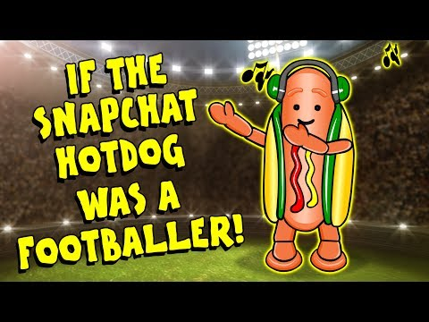 🌭IF THE SNAPCHAT HOTDOG WAS A FOOTBALLER🌭Meme Feat. Ronaldo, Messi, Suarez, Zlatan + MORE! (Parody)