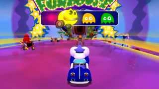 [PSP] Pac-Man World Rally - Funhouse of Terror [Hard] (Mappy)