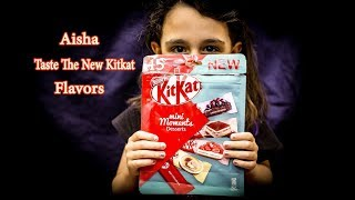 Taste The New Kitkat Flavors !!!