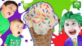 HUGE Ice Cream Surprise Egg and SCOOPS Game App!