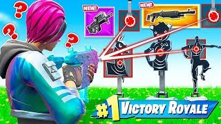 BURST SMG TARGET AIM For LOOT (Fortnite)