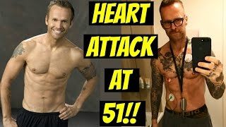 Bob Harper BIGGEST LOSER Trainer has HEART ATTACK!