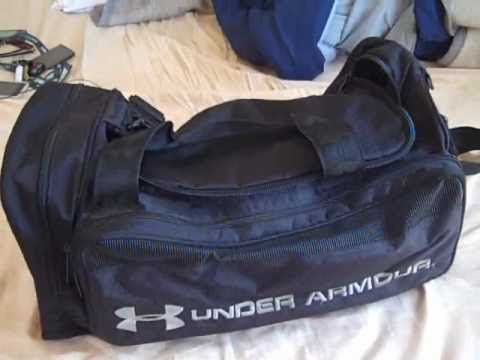 d240e02b98 Under Armour Large Duffle Bag Review - YouTube