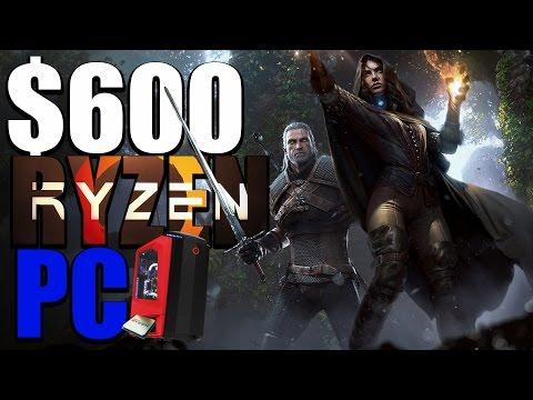 600 Dollar Ultra Cheap Ryzen PC Gaming Build - THE ULTIMATE RYZEN PC BUILD?