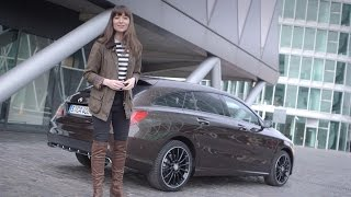 Sporty and luxury: The new CLA Shooting Brake - Mercedes-Benz original