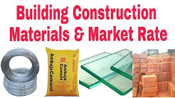 Building Construction Materials and there rate in market