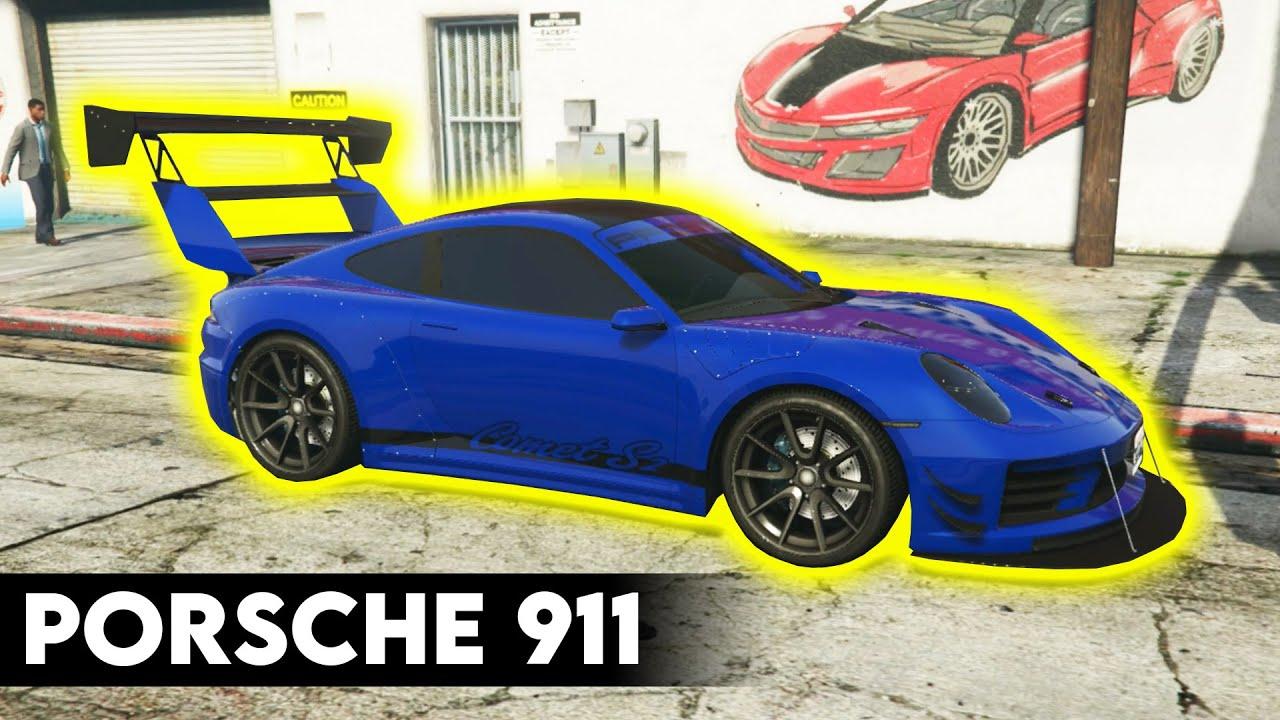 PORSCHE 911 BUILD in GTA Online - Los Santos Tuners Update