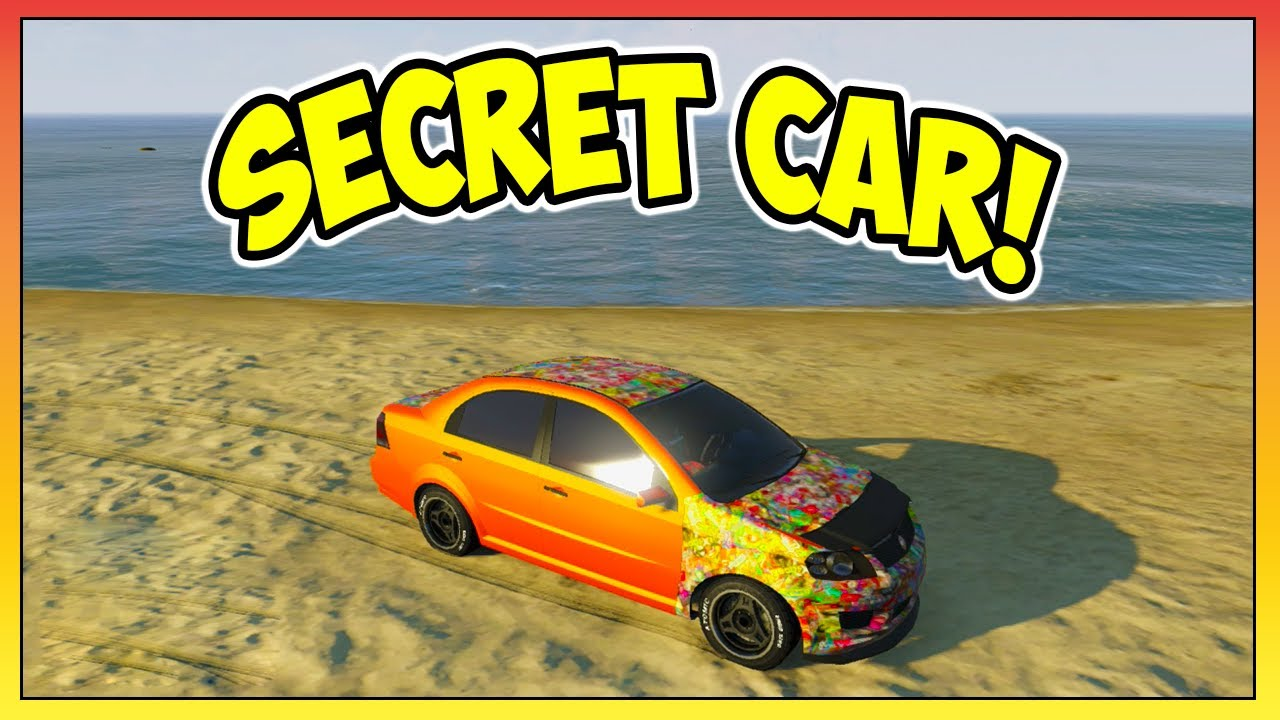 Gta Secret Car Asea Location Tutorial Rarest Car In The