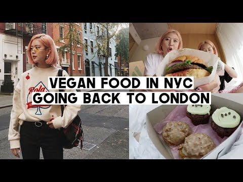 See You In London Again! 3 BEST Vegan Places in NYC | Skin L