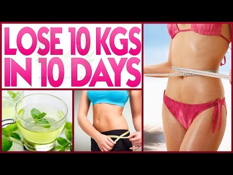 How To Lose Weight Fast 10 Kgs In 10 Days | Lose 10 Kgs In 10 Days | Best Weight Loss Drink