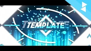 Cool Cyanish Template | 2d Intro Template | Ft. PreezeFX