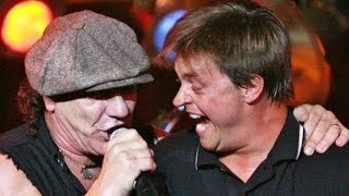JIM BREUER and BRIAN JOHNSON (AC/DC) perform ROCK AND ROLL A'INT NOISE POLLUTION