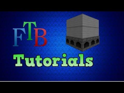 ftb tutorials: steam boiler