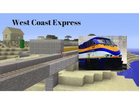 West Coast Express Train (Minecraft Trains)